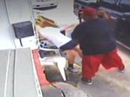 Shocking video shows couple beating a restaurant owner