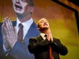 Tim Farron daughter text to say she proud he was quitting