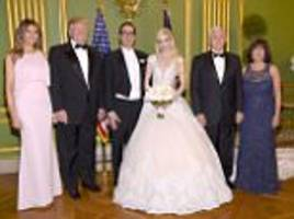 steven mnuchin marries fiancee in dc ceremony