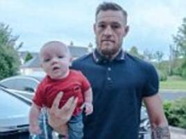 Conor McGregor posts snap with son on Instagram