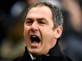 swansea's clement says they could 'bang on door of europe'