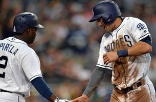 padres look for series sweep of tigers