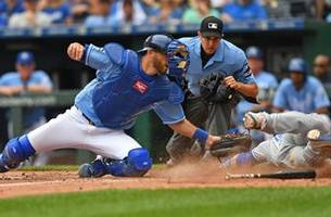 royals unable to cap sweep after 8-2 loss to blue jays