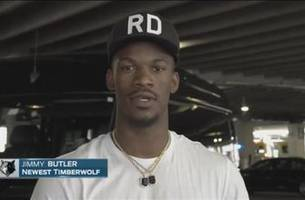 Butler on arrival in Minnesota: 'I'm so excited to get started'