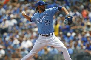surging royals look to complete sweep of blue jays on sunday