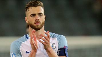 England U21s v Germany U21s: Calum Chambers on Euro 2017 semi-final