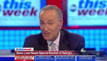 defining hypocrisy: schumer defends pelosi by telling dems you don't blame other people for losing