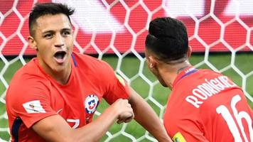 Chile & Germany reach Confederations Cup semi-finals