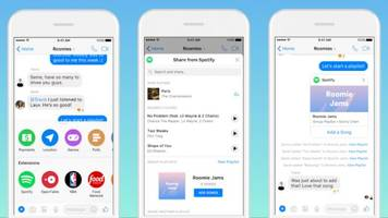 Build Spotify Playlists With Friends in Messenger