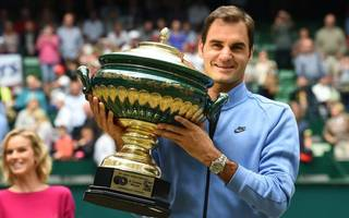 Roger Federer is heading to Wimbledon in title-winning form