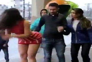 Hot Brazilian Dropped Bill Prank Has These Guys In Big Trouble
