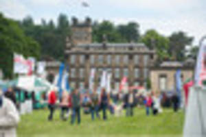 thousands attend this year's derbyshire county show in spondon's...