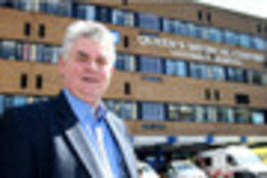 new hospital chairman's mission to create 'outstanding'...