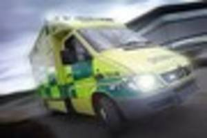 Motorcyclist in hospital after Torpoint crash