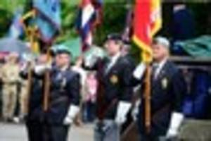 Public salute veterans on Stoke-on-Trent Armed Forces Day