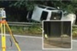 Woman, 23, arrested after serious A361 crash leaves passenger...
