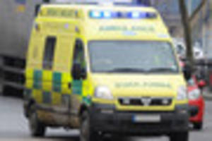 biker rushed to derriford hospital after collision with car at...