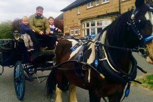 owner of cleethorpes horse and carriage rides frustrated with council about his allocated route