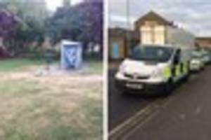 waltham cross 'potential shooting' at skate park: first pictures...