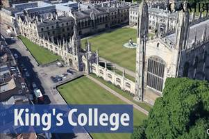 take a stunning 3d aerial tour of cambridge's greatest sights