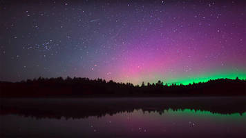Time lapse of Ontario's oldest park at night gives quite the show; video