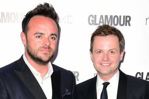 declan donnelly escapes on second holiday as best mate ant mcpartlin remains in rehab
