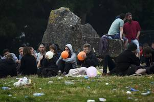 'hippy crackdown' at trnsmt festival as cops vow zero tolerance approach to the legal high