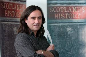 Historian Neil Oliver has been walking through Scotland's past in new documentary