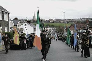 militant irish republican group plan scottish rally to recruit new supporters