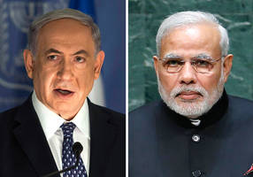Netanyahu hails 'historic' visit by Indian prime minister
