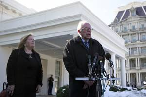 bernie sanders responds to reports of probe into bank loan