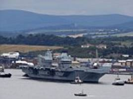cyber attack fears against britain's newest warship