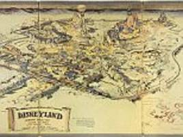 Disneyland map from 1953 fetches $708,000 at auction