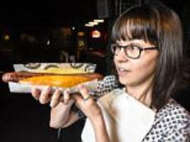 Manchester challenge to finish hot dog in four bites