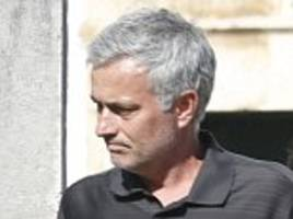 Jose Mourinho arrives in Portugal ahead of dad's funeral