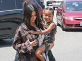 Kim Kardashian shows what Kendall got North for birthday