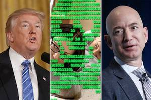 june gloom: donald trump, jeff bezos and hollywood's cyber threats