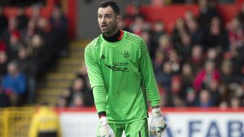 aberdeen: goalkeeper joe lewis extends his contract by two years
