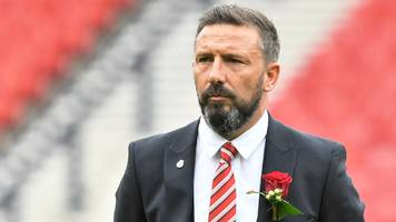manager derek mcinnes's ambitions rest with aberdeen for now
