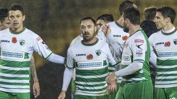champions league: new saints will be without chris marriott against europa fc