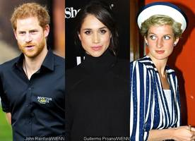 report: prince harry plans to give meghan markle engagement ring made from princess diana's bracelet