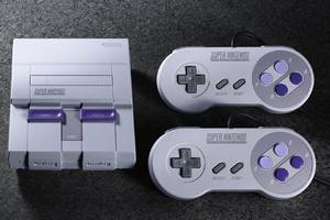 The SNES Classic's controller cables are two feet longer than the NES Classic