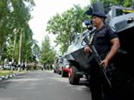 isis militants stab police officer to death in indonesia