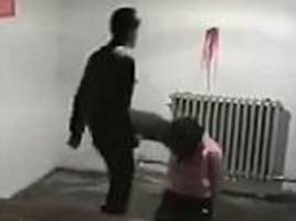 Shocking footage shows North Korean agent beating a woman