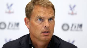 New Palace boss De Boer excited to join a club that 'spend a lot of money'