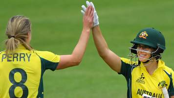 australia dominate world cup opener after confusion at toss