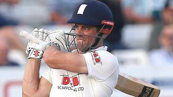 essex v middlesex: alastair cook scores half-century as hosts dominate day one