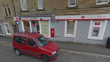 pink trainers helped catch galashiels post office robber