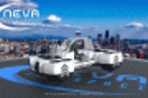 new flying car concept seeks to revolutionize personal transport