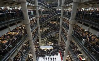 lloyd's of london plans to cut 10 per cent of 700 uk jobs